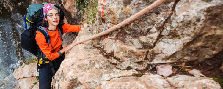 what to wear with climbing harness for women